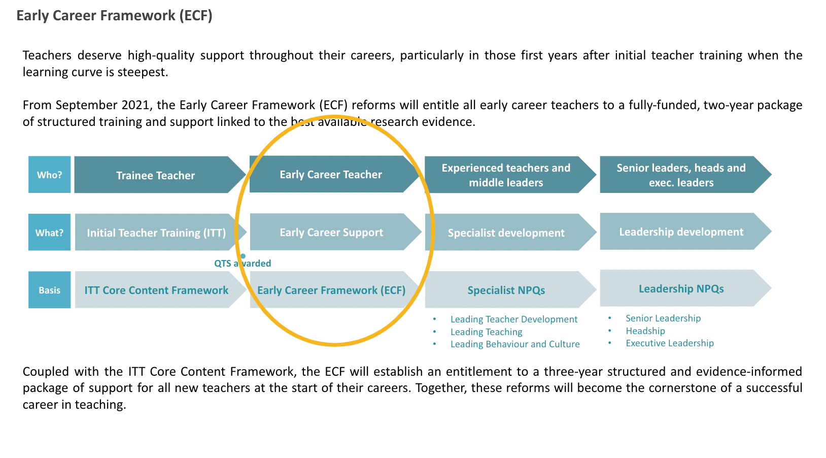 Early Career Framework